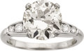 Estate Jewelry:Rings, Diamond, Platinum Ring, Whitehouse Bros.. ...
