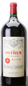 Red Bordeaux, Chateau Petrus 1983 . Pomerol. owc. Imperial (1). ...(Total: 1 Imp. )