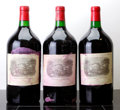 Red Bordeaux, Chateau Lafite Rothschild 1982 . Pauillac. 3-lightly tissue stained labels, 1ssos, owc. Double-Magnum (3). ... (Total: 3 D-Mags. )