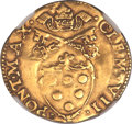 Italy, Italy: Papal States - Bologna. Clement VII gold Scudo del Sole ND(1523-1534),...