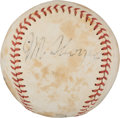 Autographs:Baseballs, 1930's Jim Thorpe Single Signed Baseball....