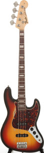 Musical Instruments:Bass Guitars, 1969 Fender Jazz Bass Sunburst Electric Bass Guitar, Serial # 268751. ...