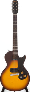 Musical Instruments:Electric Guitars, 1961 Gibson Melody Maker Sunburst Solid Body electric guitar,Serial # 20556....