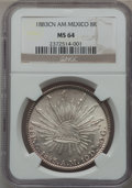 Mexico, Mexico: Republic 8 Reales 1883Cn-AM,...