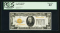 Fr. 2402 $20 1928 Gold Certificate. PCGS Choice New 63