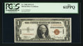 Small Size:World War II Emergency Notes, Serial Number 88 Fr. 2300 $1 1935A Hawaii Silver Certificate. PCGS New 61PPQ.. ...