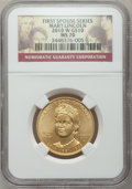 Modern Issues, 2010-W $10 Mary Lincoln MS70 NGC. NGC Census: (0). PCGS Population(99). ...