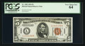 Small Size:World War II Emergency Notes, Fr. 2301 $5 1934 Hawaii Federal Reserve Note. PCGS Very Choice New 64.. ...