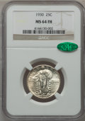 Standing Liberty Quarters: , 1930 25C MS64 Full Head NGC. CAC. NGC Census: (782/644). PCGSPopulation (910/981). Mintage: 5,632,000. Numismedia Wsl. Pri...