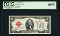 Small Size:Legal Tender Notes, Fr. 1504 $2 1928C Legal Tender Note. PCGS Superb Gem New 69PPQ.. ...