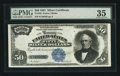 Large Size:Silver Certificates, Fr. 335 $50 1891 Silver Certificate PMG Choice Very Fine 35.. ...