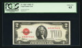 Small Size:Legal Tender Notes, Fr. 1504* $2 1928C Legal Tender Note. PCGS Choice New 63.. ...