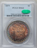 Morgan Dollars: , 1879 $1 MS64 PCGS. CAC. PCGS Population (3372/1051). NGC Census:(3742/773). Mintage: 14,807,100. Numismedia Wsl. Price for...
