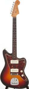 Musical Instruments:Electric Guitars, 1961 Fender Jazzmaster Sunburst Solid Body Electric Guitar, Serial# 71903....