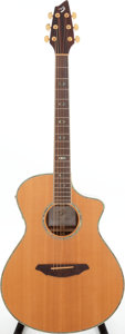 Musical Instruments:Acoustic Guitars, 1990s Breedlove AC25\SR Plus Natural Acoustic Guitar, Serial # 06085197....
