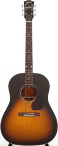 Musical Instruments:Acoustic Guitars, 1997 Gibson Buddy Holly J-45 Sunburst Acoustic Guitar, Serial #90157008....