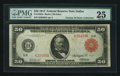 Large Size:Federal Reserve Notes, Fr. 1022a $50 1914 Red Seal Federal Reserve Note PMG Very Fine 25.. ...