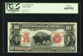 Large Size:Legal Tender Notes, Fr. 114 $10 1901 Legal Tender PCGS Gem New 66PPQ.. ...