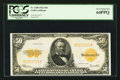 Large Size:Gold Certificates, Fr. 1200 $50 1922 Gold Certificate PCGS Very Choice New 64PPQ.. ...