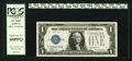Small Size:Silver Certificates, Fr. 1605 $1 1928E Silver Certificate. PCGS Superb Gem New 68PPQ.. ...