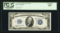 Small Size:Silver Certificates, Fr. 1703* $10 1934B Silver Certificate. PCGS Choice New 63.. ...