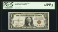 Small Size:World War II Emergency Notes, Fr. 2300* $1 1935A Hawaii Silver Certificate. PCGS Gem New 65PPQ.. ...