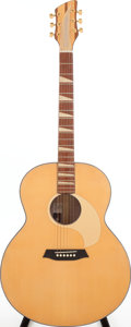 Musical Instruments:Acoustic Guitars, 2009 Rickenbacker 700C/6 Comstock Natural Acoustic guitar, Serial #PW 0013....