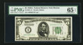 Small Size:Federal Reserve Notes, Fr. 1951-A* $5 1928A Federal Reserve Note. PMG Gem Uncirculated 65 EPQ.. ...