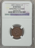 Indian Cents: , 1909-S 1C -- Improperly Cleaned -- NGC Details. XF. NGC Census:(150/699). PCGS Population (313/801). Mintage: 309,000. Num...