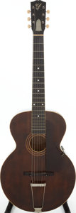 Musical Instruments:Acoustic Guitars, 1923 Gibson L-1 Brown Stain Acoustic Guitar, Serial # 72151. ...