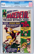 Silver Age (1956-1969):Superhero, Daredevil #1 (Marvel, 1964) CGC NM+ 9.6 Off-white to whitepages....