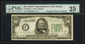 Fr. 2106-F* $50 1934D Federal Reserve Note. PMG Very Fine 25