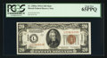 Small Size:World War II Emergency Notes, Fr. 2305 $20 1934A Hawaii Federal Reserve Note. PCGS Gem New65PPQ.. ...