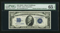 Small Size:Silver Certificates, Fr. 1702* $10 1934A Silver Certificate. PMG Gem Uncirculated 65 EPQ.. ...