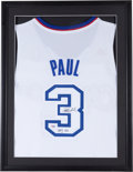 Basketball Collectibles:Uniforms, Chris Paul Signed Los Angeles Clippers Jersey. ...
