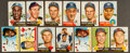 Baseball Cards:Lots, 1953 & 1955 Topps Baseball Collection (99) With 19 '53 HighNumbers. ...