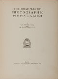 Books:Photography, [Photography]. F. C. Tilney. The Principles of Photographic Pictorialism. American Photographic Publishing, 1930. Pu...
