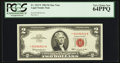 Small Size:Legal Tender Notes, Fr. 1513* $2 1963 Legal Tender Note. PCGS Very Choice New 64PPQ.. ...