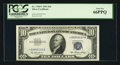 Small Size:Silver Certificates, Fr. 1706* $10 1953 Silver Certificate. PCGS Gem New 66PPQ.. ...