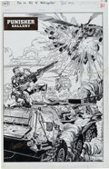 Original Comic Art:Splash Pages, Hoang Nguyen Punisher War Journal #51 Pin-up Original Art(Marvel, 1993)....