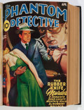 Pulps:Hero, The Phantom Detective Bound Volumes (Standard Magazines, 1939-44).... (Total: 2 Items)