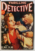 Pulps:Detective, Triple Detective/Thrilling Detective Bound Volumes (Best Publications, 1941-54).... (Total: 3 Items)