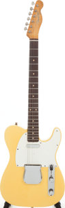 Musical Instruments:Electric Guitars, 1962 Fender Telecaster Blonde Solid Body Electric Guitar, Serial #70141. ...