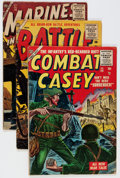 Golden Age (1938-1955):War, Comic Books - Assorted Golden and Silver Age War Comics Group(Various Publishers, 1954-61) Condition: Average GD-.... (Total: 11Comic Books)