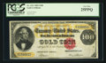 Large Size:Gold Certificates, Fr. 1211 $100 1882 Gold Certificate PCGS Very Fine 25PPQ.. ...
