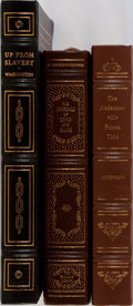 Books:Americana & American History, [American History]. Lewis and Clark, and Others. Group of ThreeBooks Published by Easton Press or Franklin Mint. Publisher'...(Total: 3 Items)