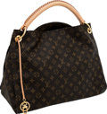 Luxury Accessories:Bags, Louis Vuitton Classic Monogram Canvas Artsy MM Shoulder Bag. ...
