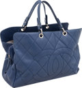 Luxury Accessories:Bags, Chanel Periwinkle Caviar Leather Oversize Grand Shopper Bag. ...