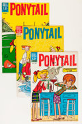 Silver Age (1956-1969):Humor, Ponytail File Copies Group (Dell, 1962-65) Condition: Average VF.... (Total: 18 Comic Books)