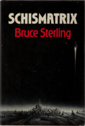 Books:Science Fiction & Fantasy, Bruce Sterling. Schismatrix. Arbor House, 1985. First edition, first printing. Publisher's binding with mild shelfwe...